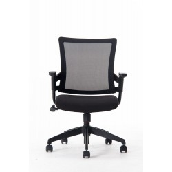 Black mesh office chair MC-108M