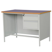 Desks with Metal Panel and Legs (2)