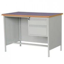 Desks with Metal Panel and Legs