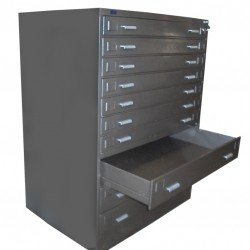 10 Drawer Plan Filing Cabinet