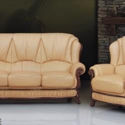 Leather Sofa Set A-84