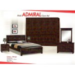Admiral Solid Wood Double Bed | Hard wood bed