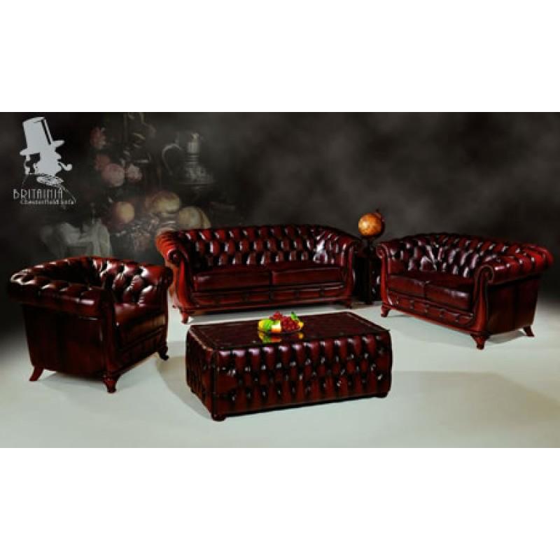 Chesterfield Sofa Set Leather Sofa Set Sofas