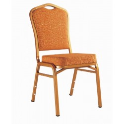 Brown Fabric Banquet Chair CY 02