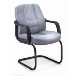 Executive Mid Back Leather Orthopedic office Chair DK 04L