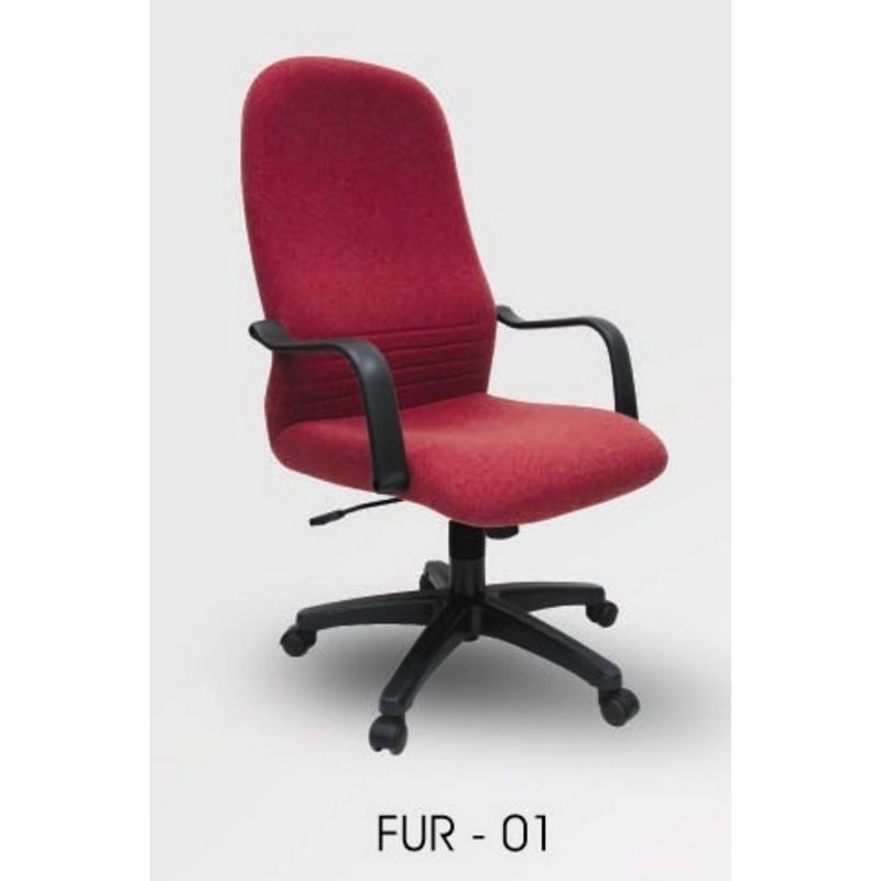 Office Chair Fabric Executive Fur 01