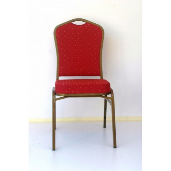 Red Fabric Banquet Chair CY102
