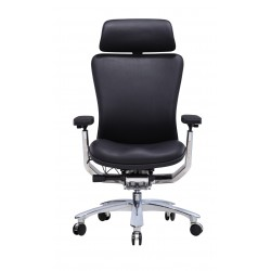 Ergonomic Leather Office Chair