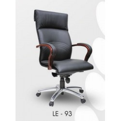 Executive Leather Office Chair LE93 - 01 H/L