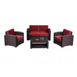 3 Seater Rattan Sofa SF01