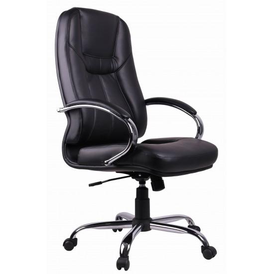 Black PVC Executive Office Chair