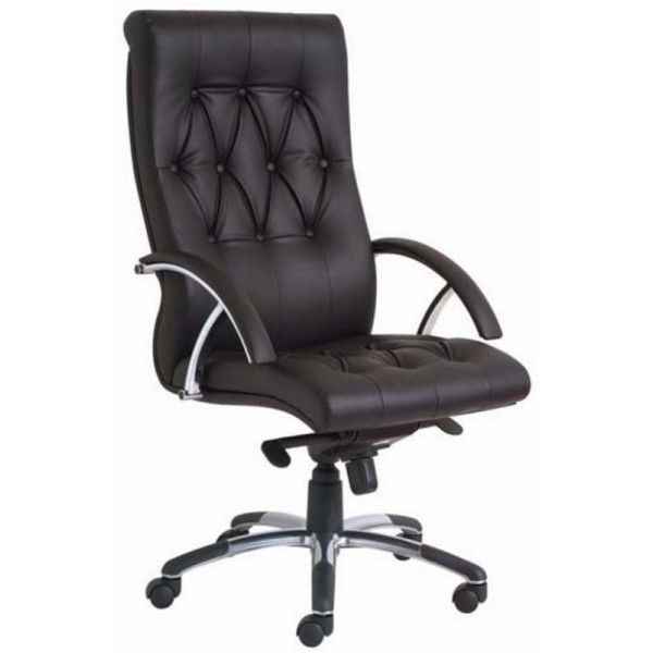 Executive High Back Leather Office Chair KS L201