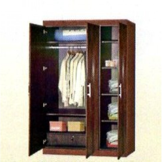 Vivanta 3 Door Wardrobe
