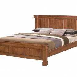 Vivanta 5 Feet Double Bed Hardwood bed
