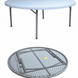 6 FEET ROUND TABLE DL Y180