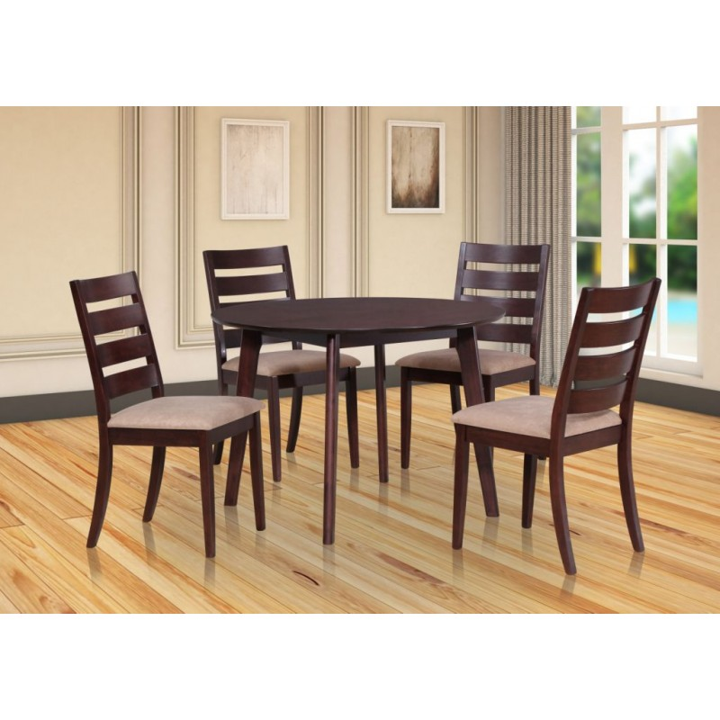 Amber Seater Dining Table Piece Dining Set - 5 seater dining table