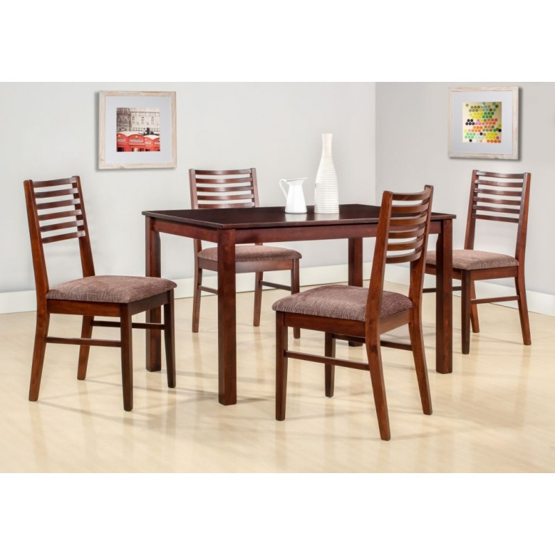 New Cypress Seater Dining Table Piece Dining Set - 5 seater dining table