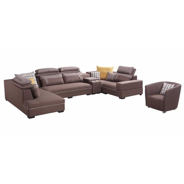 Fabric Corner Sofa PT 648