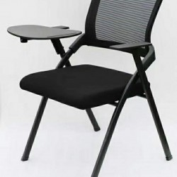 Folding Training Chair With Writing Arms Tablet   Office Chair
