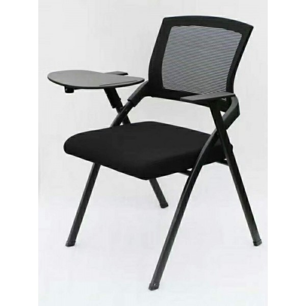 Folding Training Chair With Writing Arms Tablet | Office Chair
