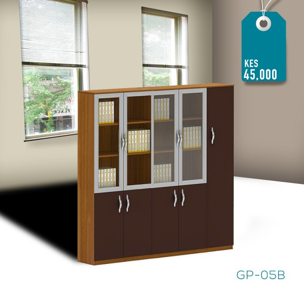 3 Door Bookshelf GP-05B