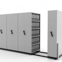 Hand Push Compactor LCP 18| Bulk Filer | Mobile Shelving