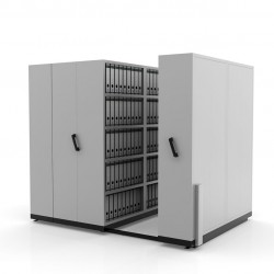 Hand Push Compactor LCP 24| Bulk Filer | Mobile Shelving