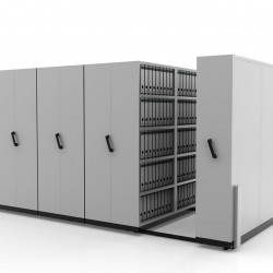 Hand Push Compactor LCP 28| Bulk Filer | Mobile Shelving
