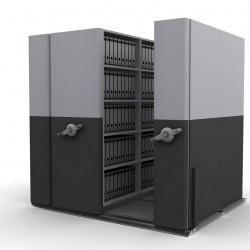 4*2 Bay Mobile Compactor Mechanical MCM 24 | Bulk Filer|Mobile Shelving