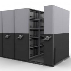 6*2 Bay Mobile Compactor Mechanical MCM 26 | Bulk Filer|Mobile Shelving
