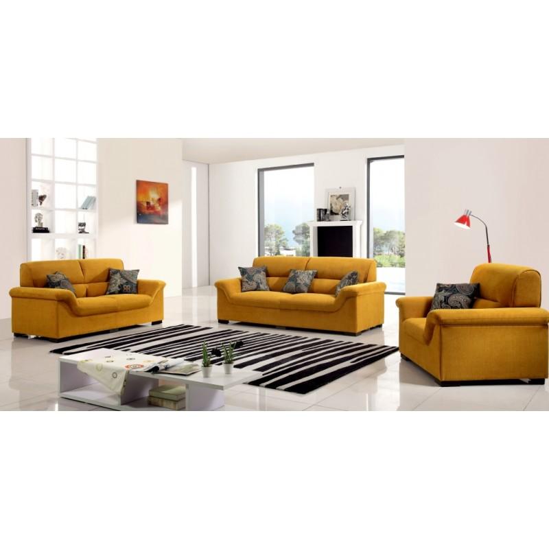 Kenya Sofa Sets Furniture: 6 Seater Fabric Sofa PT 564
